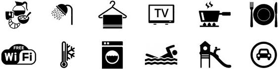 Tutti i servizi gratuiti compresi nel prezzo del soggiorno